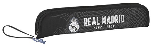 Real Madrid - Portaflautas, Color Negro (SAFTA 811757284)