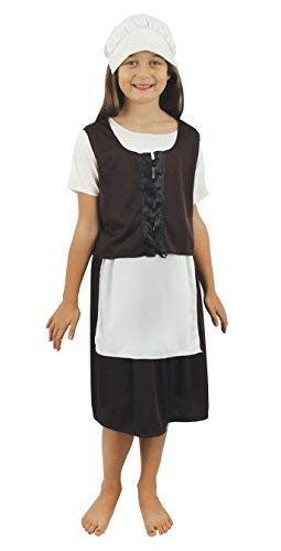I Love Fancy Dress ilfd7022 x l Filles pauvres Tudor Costumes (X-Large)