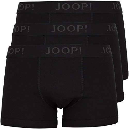 Joop! 3 Pack Herren Boxershorts Gr.XXL Fb.001 Schwarz Black