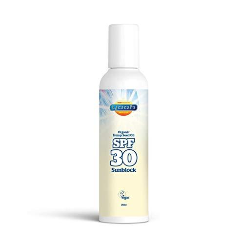 Yaoh Suncare Organic Hemp Seed Oil Sun Block SPF 30