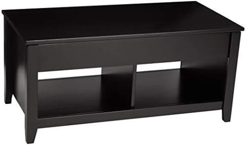 Best AmazonBasics Lift-Top Storage Coffee Table, Black