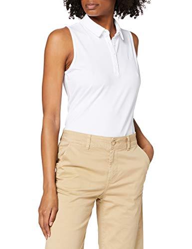 Under Armour Zinger SL Polo, Mujer, Blanco (White/White/White 100), XL