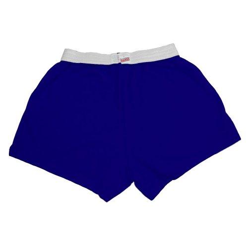 Original Soffe Cheer Shorts, Royal Blue, Adult Large
