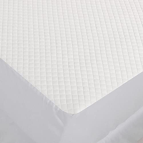 DSman Protector de colchón - cubrecolchón Transpirable Sábana Impermeable, a Prueba de Polvo y Transpirable-1.2X2.0m