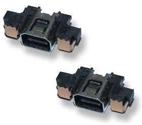3DS 充電コネクター(電源ソケット)2個セット