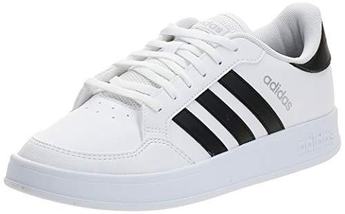 adidas Damen BREAKNET Tennisschuhe, Ftwbla/Negbás/Plamet, 39 1/3 EU