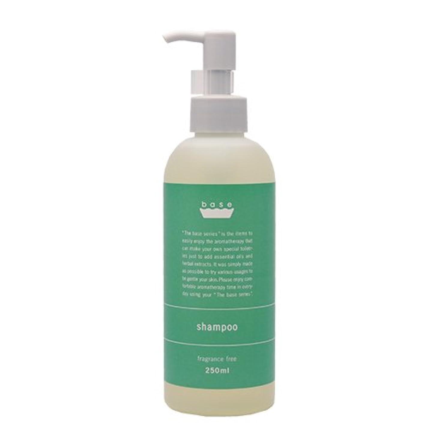 理論盆地くつろぎbase shampoo(ベースシャンプー)250ml