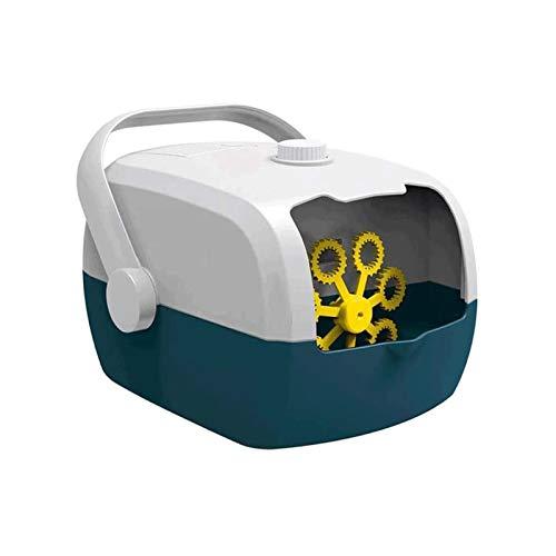 Bdesign Burbuja automática del Ventilador, Portátil Burbuja Fabricante de automóviles con Alto Rendimiento for Naturaleza/Uso en Interiores, Burbuja Juguetes y Regalos for los niños Muchachos de Las