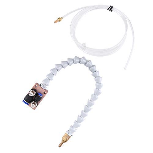 Rosvola Sistema De Pulverización De Refrigerante De Niebla, Sistema De Lubricación De Refrigerante De Niebla para Máquina De Molino De Torno CNC De Tubería De Aire De 8 Mm SG