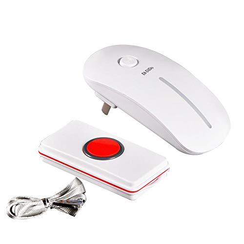 WHYIT 2 'en Cualquier Lugar' Alarma GPS del otoño de Alerta de Alarma para la Tercera Edad/Ancianos/OAP/Demencia/Persona Mayor Colgante SOS Rastreador de Alzheimer