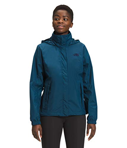 The North Face Women's Resolve 2 Jacket, Monterey Blue, XS