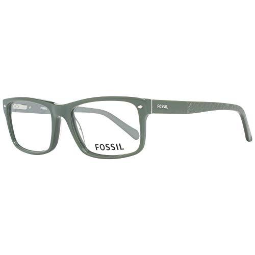 Fossil Brillengestelle FOS 6039 Rechteckig Brillengestelle 53, Grün