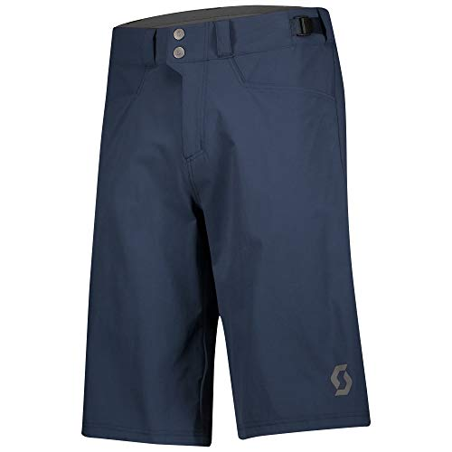 Scott Trail Flow Fahrrad Short Hose kurz (Inkl. Innenhose) Midnight blau 2021: Größe: L (50/52)