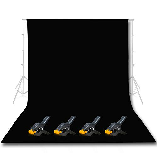 Emart Photo Studio 10 x 12ft Green Backdrop Screen, Seamless Chromakey Backdrop Muslin Background Screen for Photography