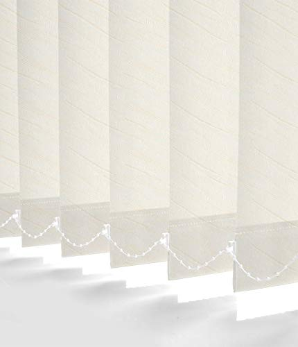 Blackout White Made To Measure vertical aveugle-Best price for a Full aveugle