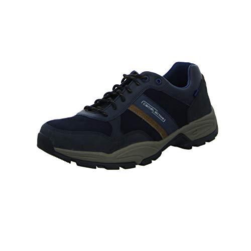 camel active Evolution, Herren Sneaker, Blau (midnight/timber 02), 44.5 EU (10 UK)
