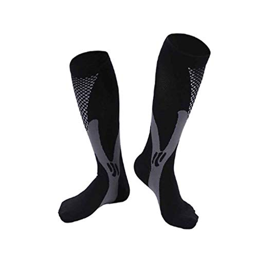 GPPZM 10 Pairs Pair Sports Compression Socks for Running Hiking Basketball Soccer Elastic Footwear Varicose Veins Muscle Support Stocking