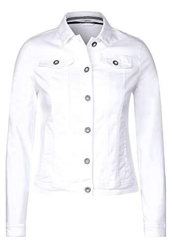 Cecil Damen TOS Color Denim Jacket Jeansjacke, Weiß(White)XXL