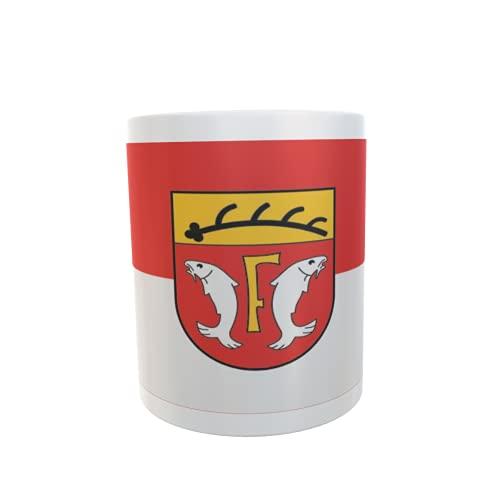U24 Tasse Kaffeebecher Mug Cup Flagge Freudenstadt