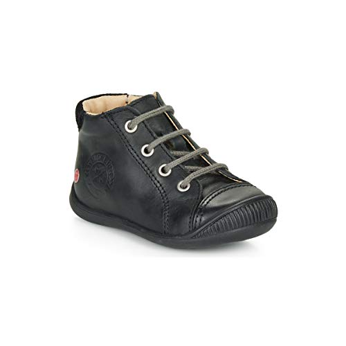 GBB NOE Enkellaarzen/Low boots jongens Zwart Laarzen
