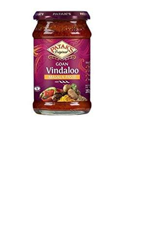 Patak'S Curry Vindaloo Piccante in Pasta con Tamarindo e Chili - 283 gr