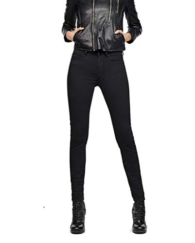 G-STAR RAW Damen Shape High Waist Super Skinny Jeans, Blau (medium Aged B034-071), 27W / 36L