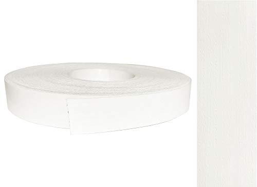 Kantenumleimer Melamin 22mm x 50m mit Schmelzkleber in Esche weiß pore Dekor