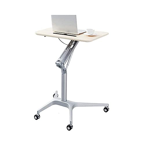 Days Overbed Table Omputer Stand Desk Cart Height-Adjustable Suitable for Bedroom Living Room Lecture Home Bedside Laptop Overbed Table