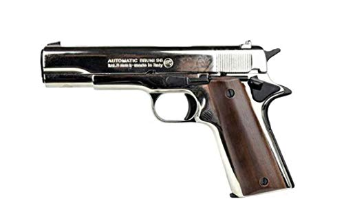 Bruni Pistola a Salve 96 Calibro 8 mm Nickel