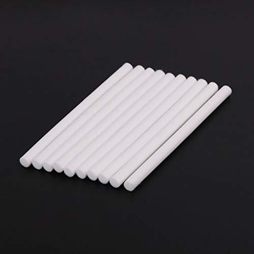 ZJL220 10 filtros de algodón para humidificador ultrasónico de aire USB de 8 x 130 mm.