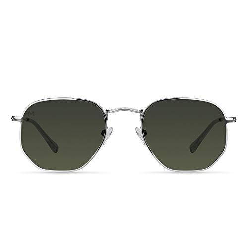 Meller - Eyasi Silver Olive - Gafas de sol para hombre y mujer