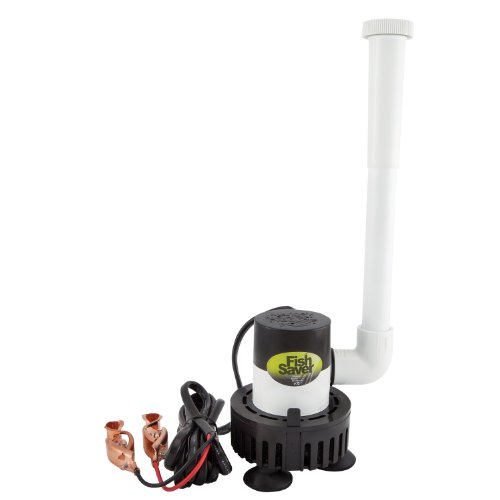Marine Metal Products Fish Saver 360GPH Rule Pump Aerator: FS-4