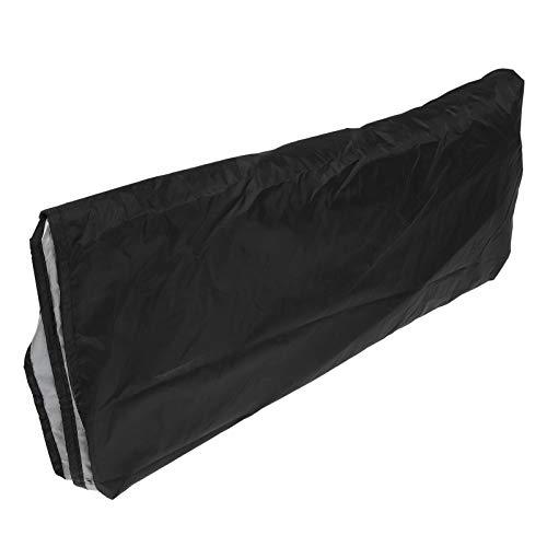 Aoutecen Outdoor Supplies 190T Funda Impermeable para sofá de Tela Oxford recubierta de Plata, 126.4 x 61 x 29.9in Funda de sofá en Forma de U Protección de sofá para jardín y Patio