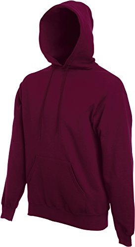 Fruit of the Loom Hooded Sweat Burgund - XL