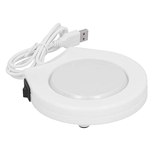 Voluxe Calentador de Tazas de café, práctico Calentador enchufable USB para Tazas, 4.5x4.5x0.8in para hogares, oficinas, Empresas