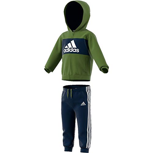 Adidas I Logo Full Zip Hooded Jogger voor heren