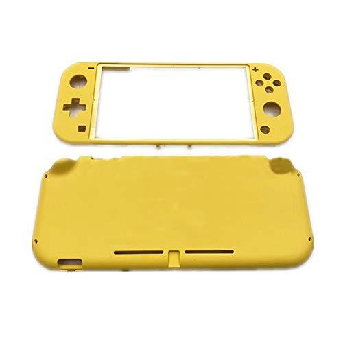 Mieoce Bricolage de Remplacement Dur Boîtier Shell Faceplate Accessoire de Réparation pour Nintendo Switch Lite Console - Jaune
