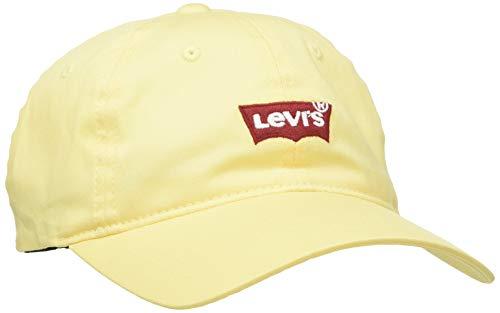 Levi's Women's Mid Batwing Baseball Cap Gorra de béisbol, Regular Yellow, Talla única para Mujer