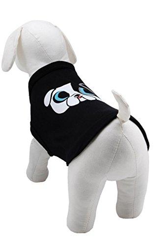 Karl Lagerfeld Haustiere Hund T-Shirt, Farbe: Schwarz, Größe: 40