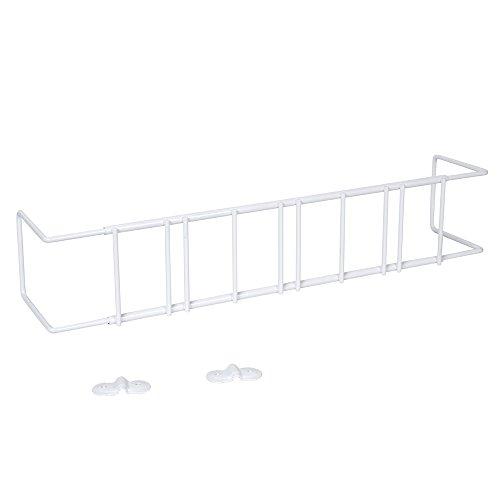 Weiße Fensterhalterung, ausziehbar von 70 bis 120 cm