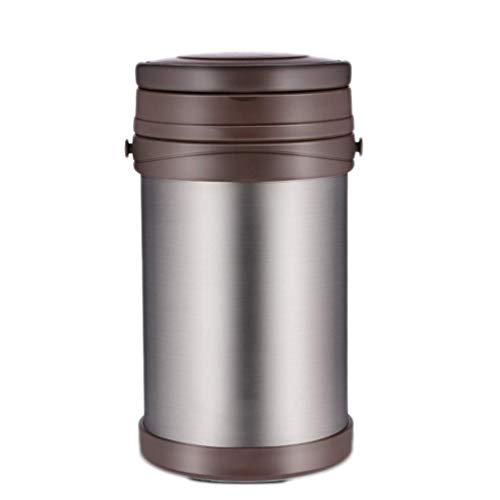 YUTRD ZCJUX Almuerzo térmica Caja- Fiambrera estancos de Acero Inoxidable recipientes for almacenar Alimentos con Almuerzo aislada Bolsa portátil for Cubiertos