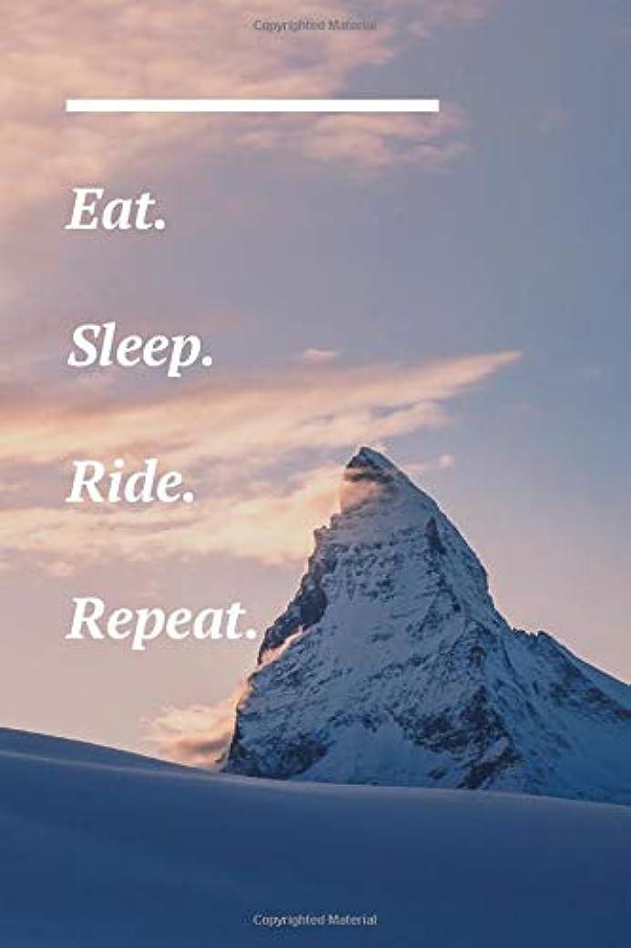 クーポン死傷者アーカイブEat. Sleep. Ride. Repeat.: Snowboard Journal - Snow Mountain Picture