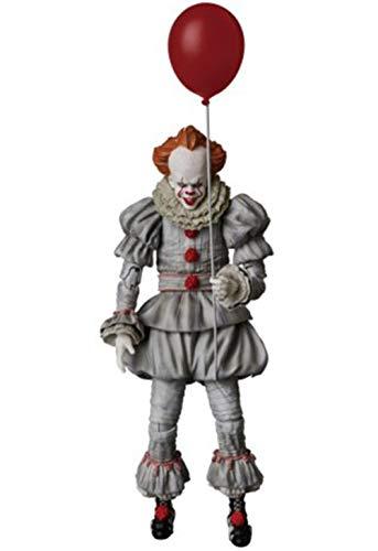 IVY HAIR Kids Popular Movie Halloween Clown Costume Ball Makeup Cosplay Costume (M, Type-A)…