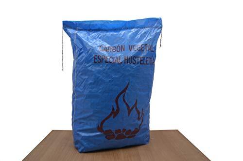 FERRETERIA LEPANTO Carbón Puro Vegetal Premium 1 Bolsa de 60L o 10kg, para barbacoas y cocinas