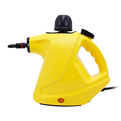 LINLUX Handheld Pressurized Steam Cleaner,...