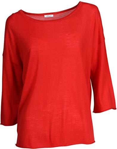 IHEART Damen Oversized-Shirt Kaethe in Rot S