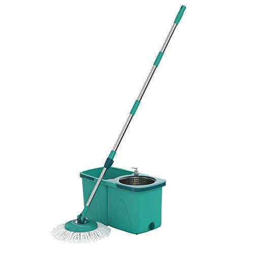 Mop Giratório Pró, MOP7824, 9 litros, Verde, Flash Limp