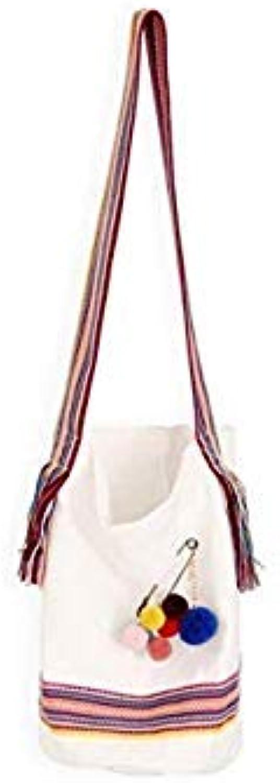 Bloomerang Women Shoulder Bag Canvas Handbag Totes Shopper Bag Designer Famous Brand MAY10 color White