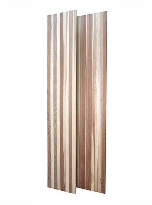 Filler Material Panel - Set of 2 (All-Heart Redwood - Light Stain)