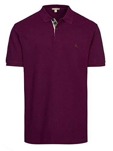 Burberry Brit - Polo para hombre, color violeta